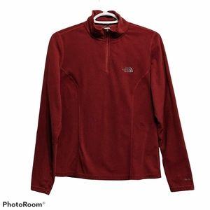 THE NORTH FACE TKA 100 zip polartec fleece poulover shirt size Medium